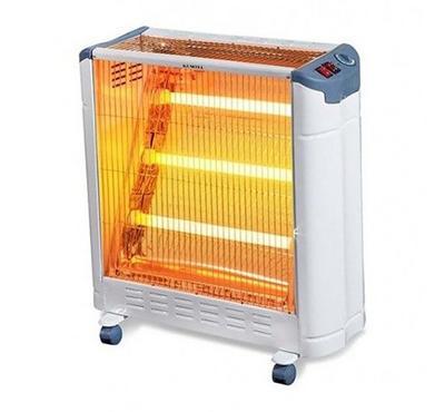 Kumtel Heater 3 Large Tubes 2400W 220-240V