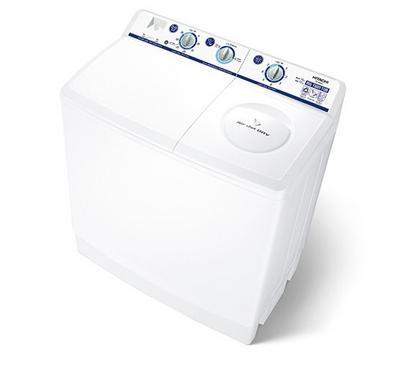 Hitachi Twin Tub Washing Machine 14 kg, 12 kg Spin Capacity,White