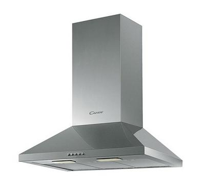 Candy 60cm Chimney Hood 150W Stainless Steel