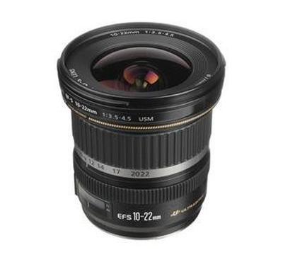 Canon f/3.5-4.5 USM Lens, focal length 16-35 mm