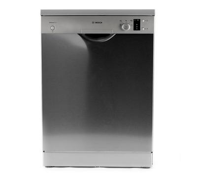 Bosch Dishwasher,12 Place Settings, 5Programs, Silver Inox
