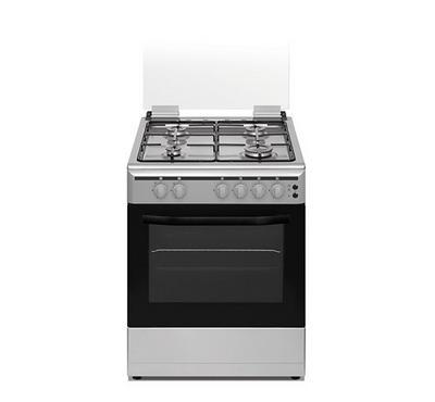 Ariston 60/60 Size, 4 Gas Burner, 58 Ltr Capacity Gas oven,