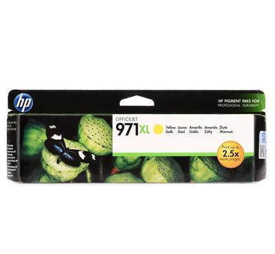 HP خرطوشة طباعة حبرية 971XL أصلية صفراء