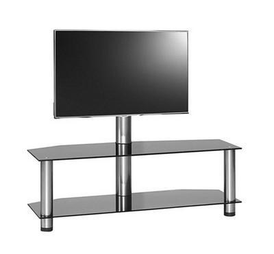 Mobuler Fine LCD/LED TV Bracket Stand Glass Black