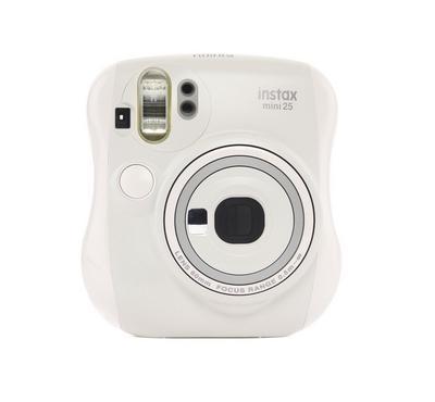 Fuji Instax Mini 25 Camera White