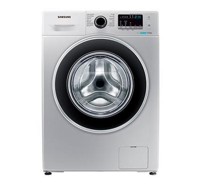 Samsung Washing Machine, 8KG, Front Load, Silver
