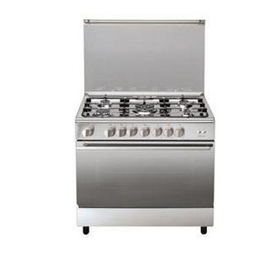 Ariston Gas Cooker 90x60cm 5 Burners FS Steel