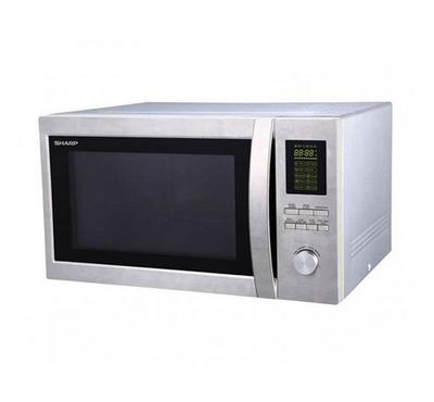 Sharp Microwave Oven with Grill, 43L 1200W, Mirror Door,