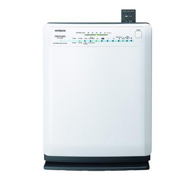 Hitachi Air Purifier 33m² 50W White. HEPA H12, 5 Oper Modes