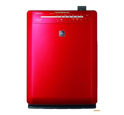 Hitachi Air Purifier 46m² 60W Red. HEPA 13, 5 Operation Mode