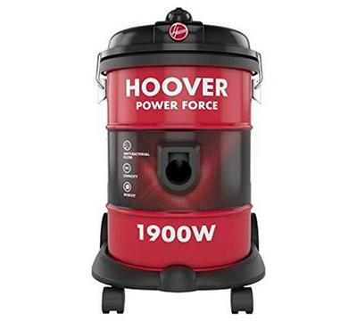 Hoover 1900 Watts Vacuum Cleaner, Dust Capacity 18 ltr,Red