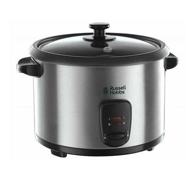 Russell Hobbs Rice Cooker 1.8Ltr, Manual, Keep Warm Function, 60Hz, 700 watts,Silver