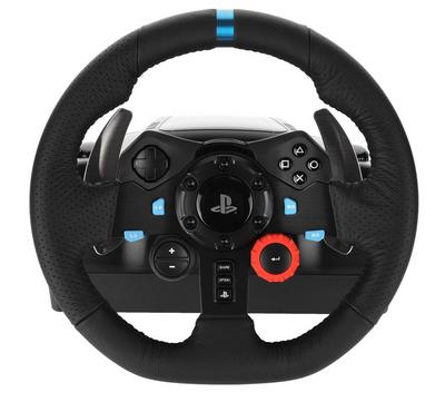LOGITECH G Series Driving Force G29 Racing Wheel, Wired, for PS 4, PS 3, Black