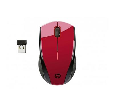 HP Wireless Mouse X3000, Sunset Red