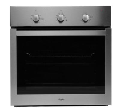 Whirlpool, Electric oven, 60 CM, 60L, Black/Stainless