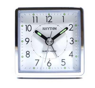 ريثم ساعة مكتب مع منبة، ازرق