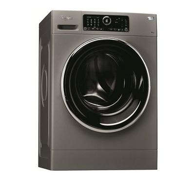Whirlpool, 9.0kg Washing Machine Front Load, 1400rpm, 15 Wash Programs, Silver