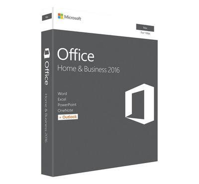 MICROSOFT Office Mac Home Business 2016 English