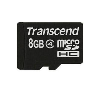 Transcend Micro SD 8GB HC, Black