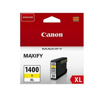 Canon 1400XL Yellow Ink Cartridge, 1200 Pages