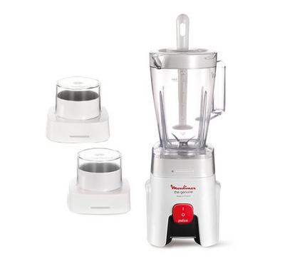 Moulinex, Blender, 450W, 1  Speed,,1.5L Capacity, White