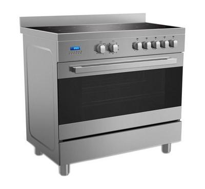 Midea 90x60 Vetro Ceramic Cooking Range Stainless