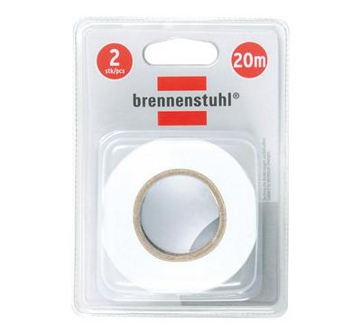 Brennenstuhl 20m Adhesive Insulating Tape 20mm White