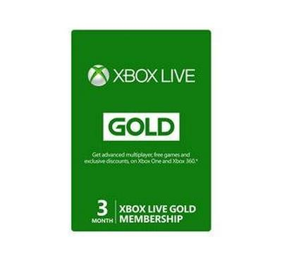 Xbox 360 Live 3 months Gold Card