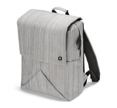 "Dicota CODE 13"" Notebook Backpack Bag Grey. Polyester"