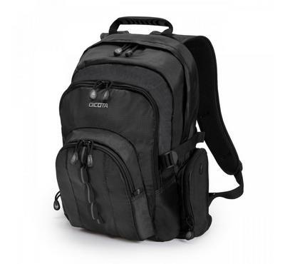 "Dicota UNIVERSAL 15.6"" Laptop Backpack Bag Black. Polyester"