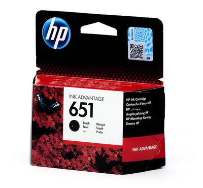 HP 651 Black Ink Cartridge