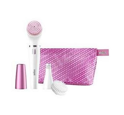 براون آلة تنظيف الوجه وإزالة الشعرالناعم