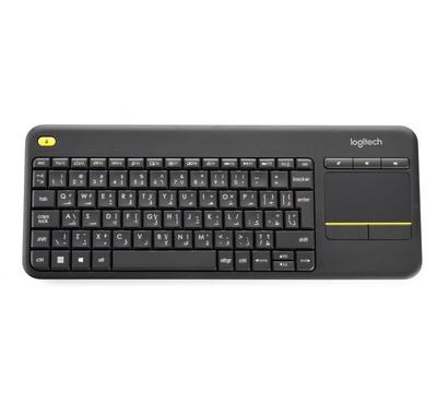 لوجيتك K400 بلاس لوحة مفاتيح لمس لاسلكية
