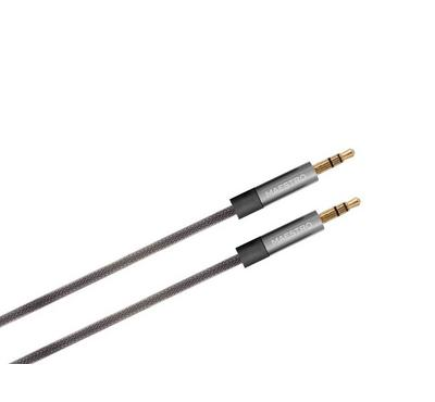 Maestro Jack Metallic AUX 3.5mm Cable Silver