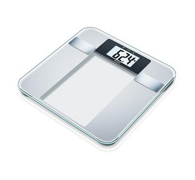 Beurer BG13 Diagnostic Bathroom Scales, 150 kg capacity, LCD display