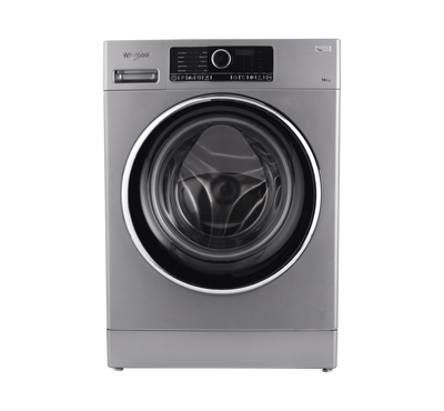 Whirlpool Front Load Washer 10KG, Silver