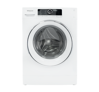 Whirlpool Front Load Fully Automatic Washer, 8KG, White