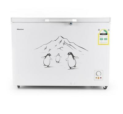 Hisense Chest freezer, 10.7 Cuft, White