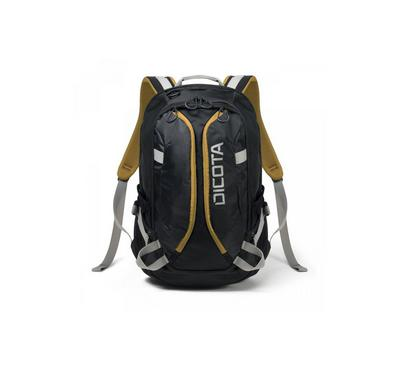 Dicota, Laptop Backpack, 15.6 Inch, Black/Yellow