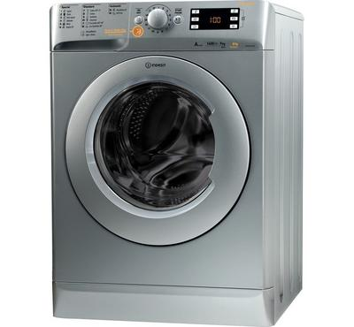 Indesit, Full Automatic Washer 9kg and 6kg dryer Machine, Silver