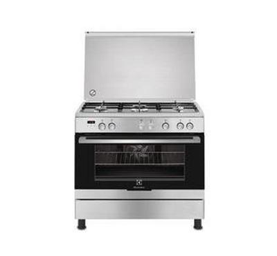 Electrolux Gas Cooker, 60x90cm,  5 Burners,Stainless Steel