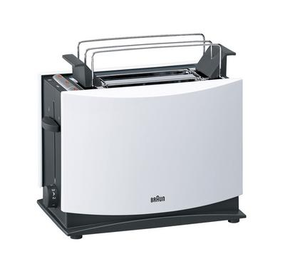 Braun Multiquick 3 Toaster White 2 Slot