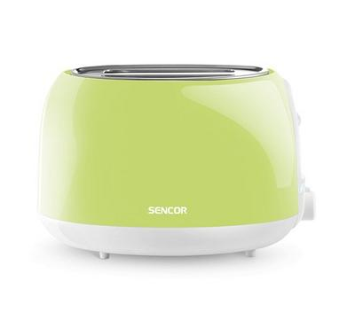 Sencor PASTELS COLLECTION 2Slice Toaster Plastic 800W Green
