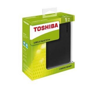 "Toshiba CANVIO READY 1TB 2.5"" Portable HDD Black"