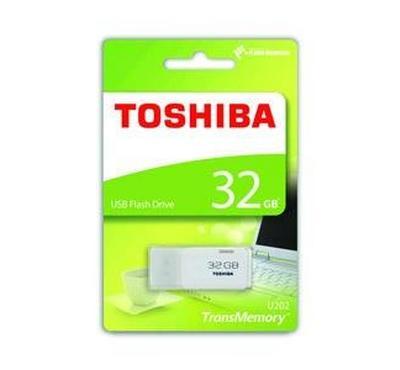 Toshiba TransMemory U202 32GB USB2.0 Flash Drive White