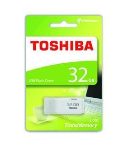 Toshiba TransMemory U202 32GB USB2.0 Flash Drive White