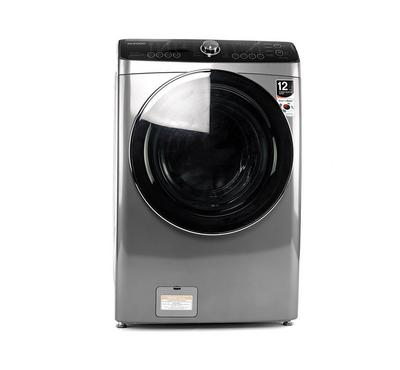 Daewoo Front Load Fully Automatic Washer 15KG/Dryer 8KG, Silver