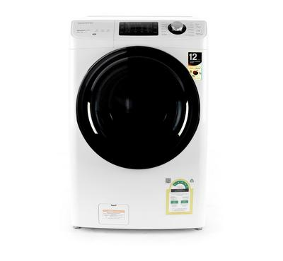 Daewoo Front Load Fully Automatic Washer 11KG/Dryer 7KG, White
