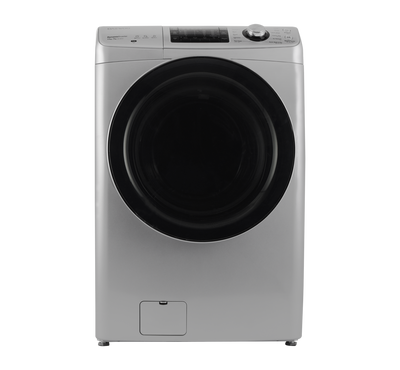 Daewoo Front Load Fully Automatic Washer 11KG/Dryer 7KG, Silver