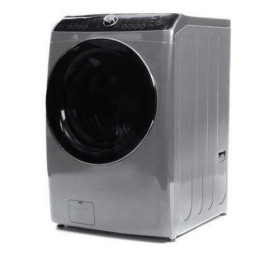 Daewoo Front Load Fully Automatic Washer 13KG/Dryer 7KG, Platinum Silver